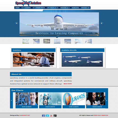 speedway aviation website